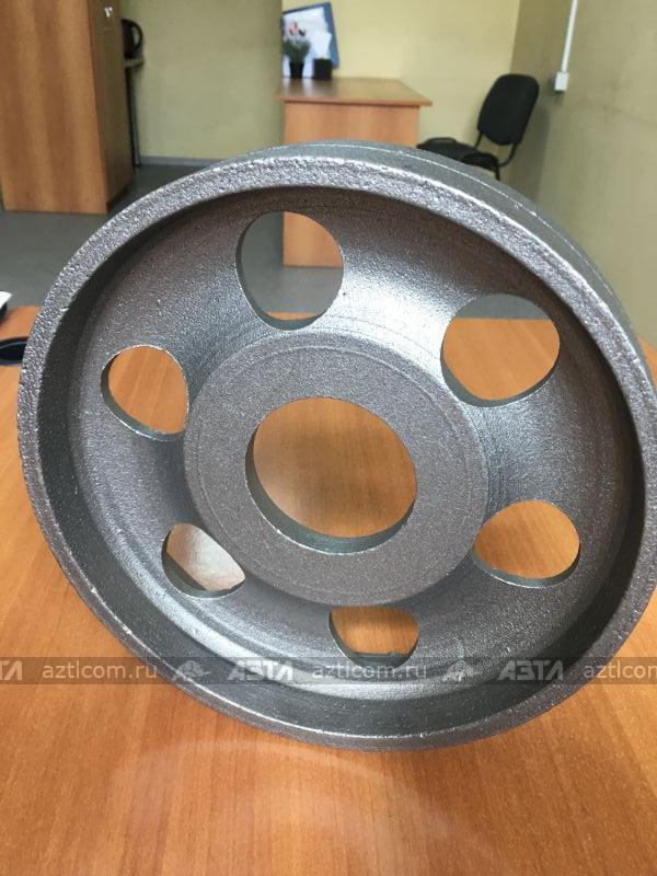 Шкив тормозка М04.36.115/1. Произведено на АЗТЛ