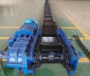 Корпус хвостового барабана шахтного скребкового конвейера СР-70Л